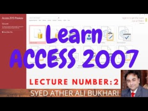 ms access video tutorial free download