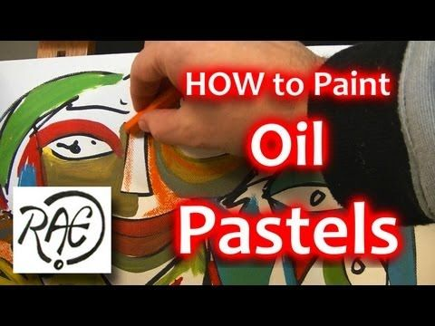 pastels on canvas tutorial