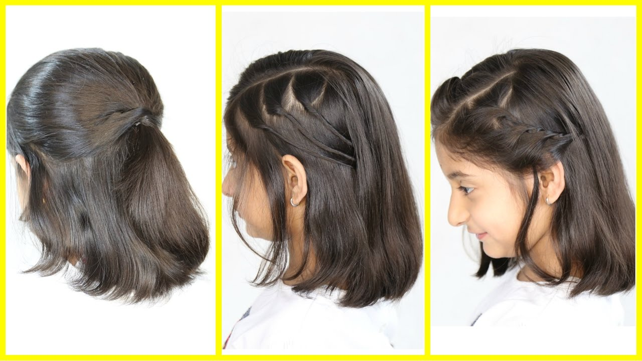 simple updos for short hair tutorial