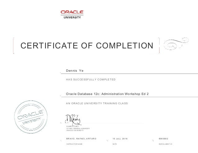 oracle database administration tutorial for beginners