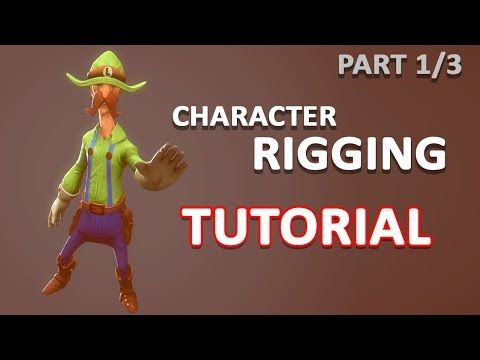 3ds max character rigging tutorial