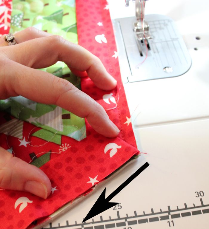quilted tree skirt tutorial