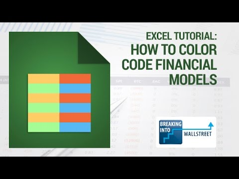 excel for finance tutorial